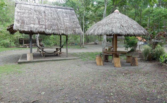 area de campamento